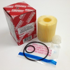 04152-YZZA5 Oil Filter for TOYOTA 4Runner, FJ Cruiser, Tundra, LEXUS GS, IS, LS
